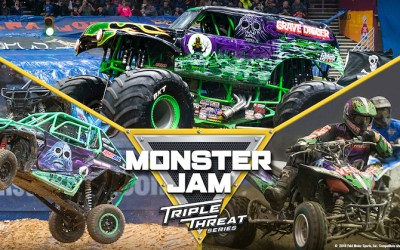 CONTEST: Win Tickets to Monster Jam Triple Threat Series