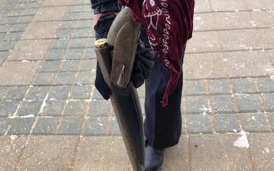 RCMP Chase Suspect onto Lake Winnipeg, Recover Shotgun