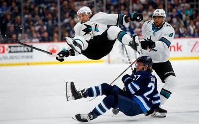 Melker Karlsson, Timo Meier Lift San Jose Sharks Over Winnipeg Jets 3-2