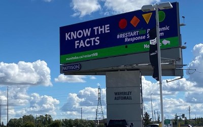 Recent Spike in COVID-19, So Manitoba Reworks Six-Figure Ad Campaign