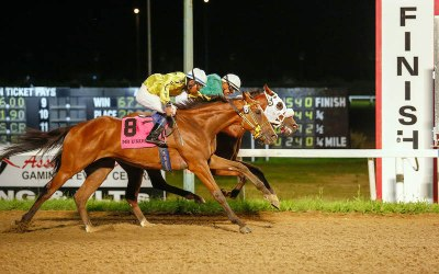 Mongolian Wind Takes the Manitoba Derby