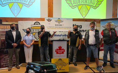 Manitoba Motorcycle Ride for Dad Adopts 'Ride Alone Together' Format