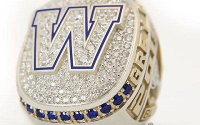 Winnipeg Blue Bombers Unveil Grey Cup Championship Rings