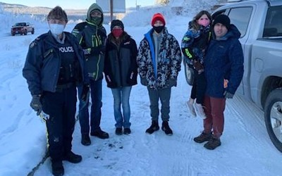 Help from B.C. Man Allows American Family to Reunite in Alaska