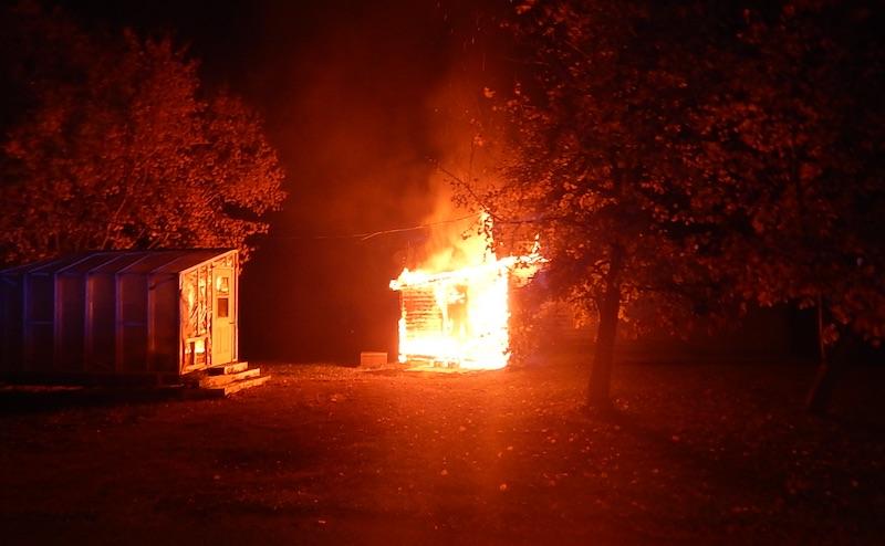 Neepawa Arson Fire