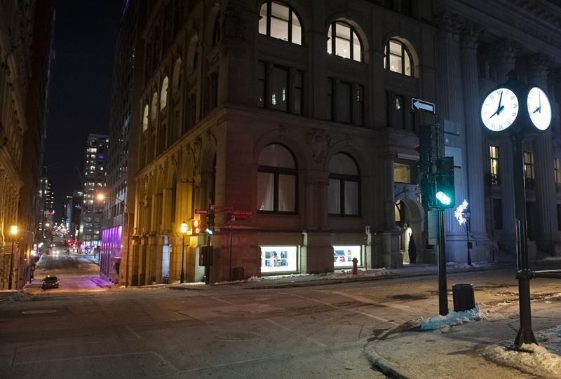 Montreal Curfew