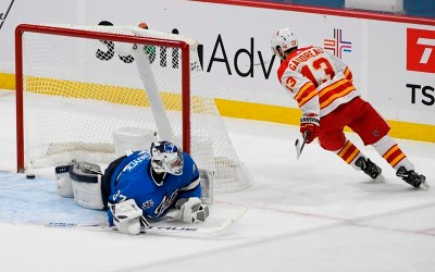 Johnny Gaudreau, Flames Beat Jets 4-3 in a Shootout