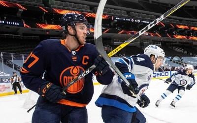 Leon Draisaitl Scores Twice as Edmonton Oilers Edge Winnipeg Jets 3-2