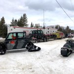 Body of Missing Snowmobiler Recovered from Eleanor Lake