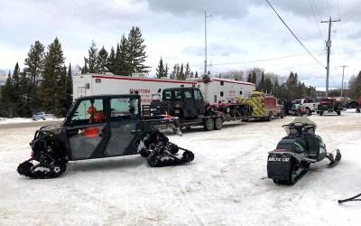 Missing Manitoba Snowmobiler Presumed Drowned as Search Called Off