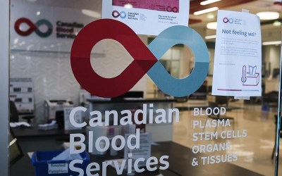 Canadian Blood Services Says Donations from Those Who Have Had COVID-19 Are Safe