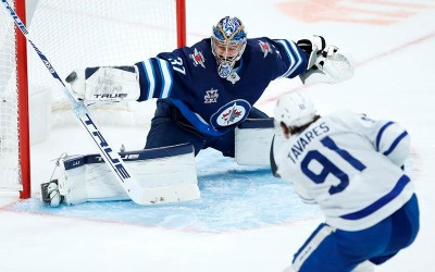 Mitch Marner Scores 100th Career Goal as Toronto Maple Leafs Beat Winnipeg Jets 4-1