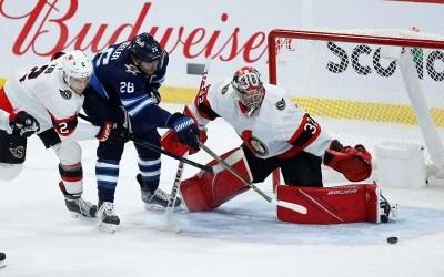 Rookie Tim Stutzle Scores First NHL Hat Trick, Senators Defeat Jets 4-2