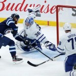 Connor Scores Twice, Jets Beat Leafs in Regular-Season Finale