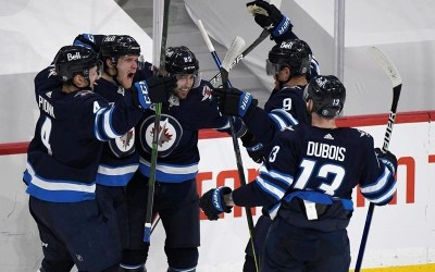 Jets Take 3-0 Series Lead Over Oilers with 5-4 Comeback OT Win