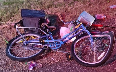 RCMP Search for Driver After Cyclist Hit on Trans-Canada Highway