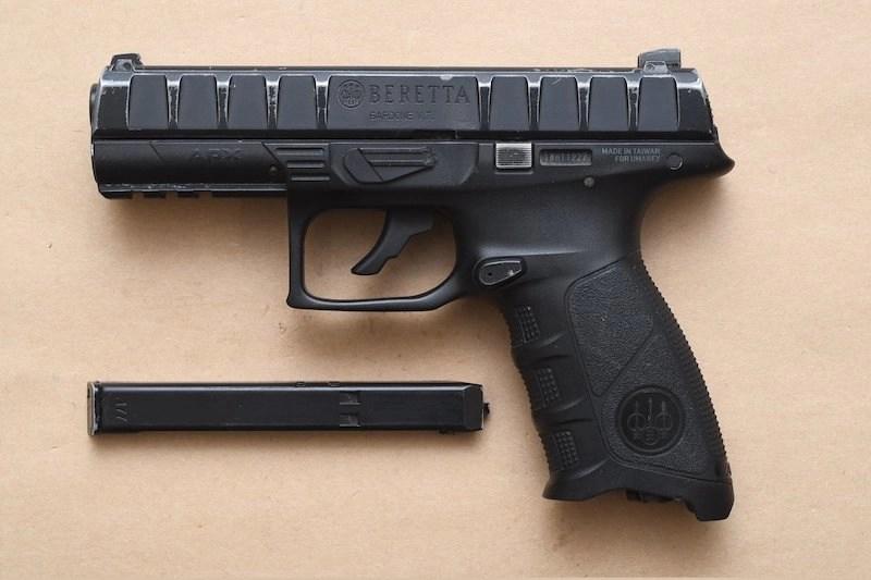 Seized BB Gun