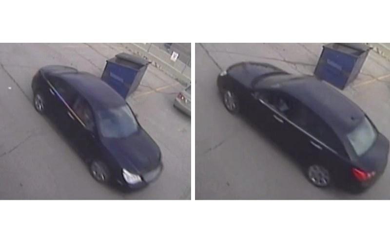 Shotgun Suspect Vehicle