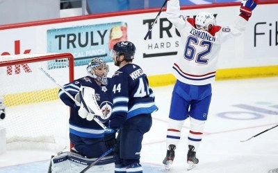 Canadiens Blank Jets to Go Home with 2-0 Series Lead