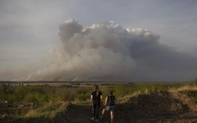 Residents from Four First Nations in Manitoba Sent to Winnipeg Due to Wildfires