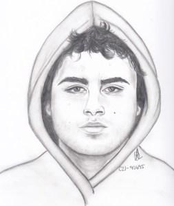 Shooting Suspect Sketch