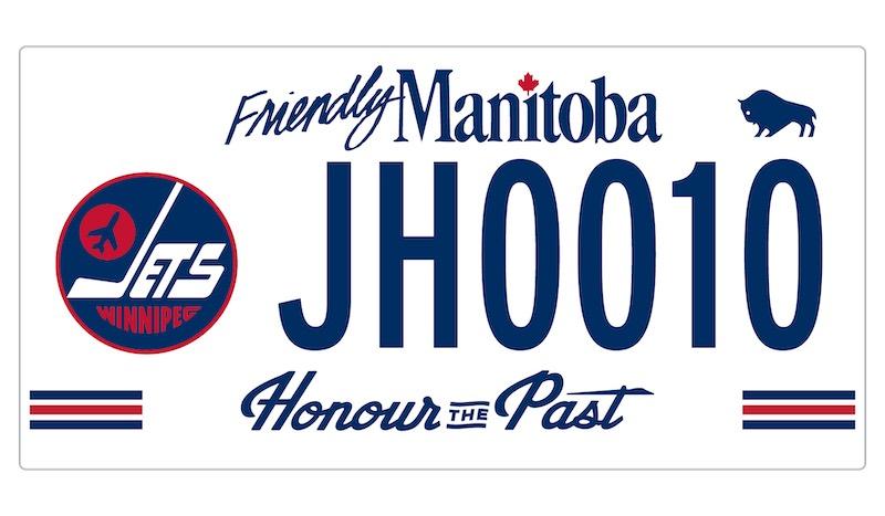 Winnipeg Jets Heritage Plate