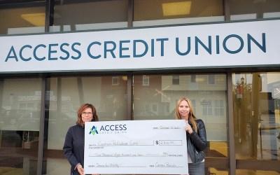 Access Credit Union Raises $102K for Non-Profits