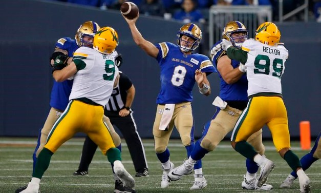 Defending-Champion Blue Bombers Can Become First Team to Clinch Playoff Spot with Win