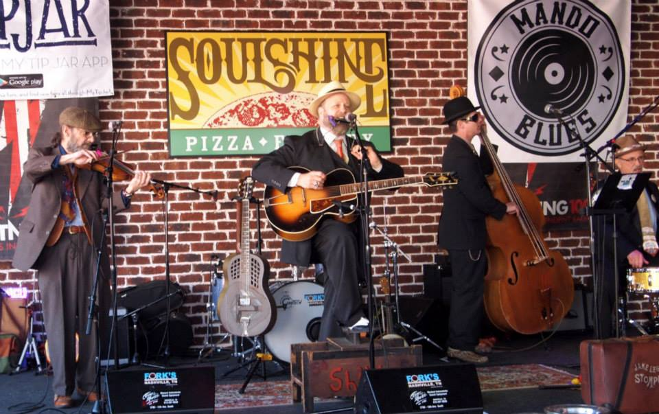 Jake Leg Stompers Soulshine Live Nashville Mando Blues