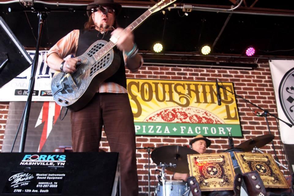 Richie Owens Soulshine Live Nashville Mando Blues