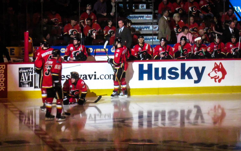 Calgary Flames Saddledome Hockey