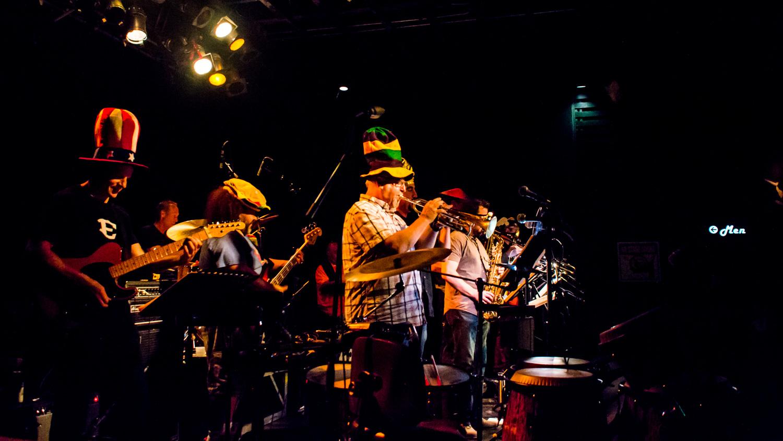 Chris West JunkYard Horns Exit/In Nashville Live