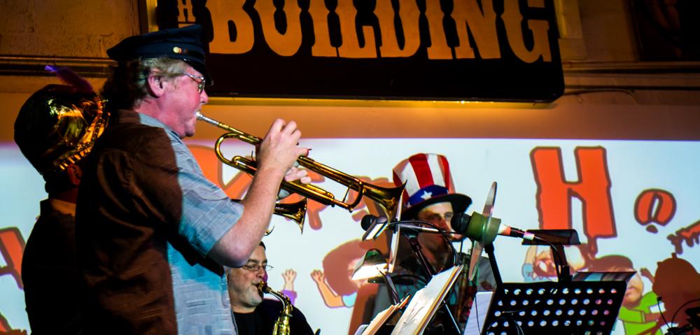 Chris West JunkYard Horns Band Building East Nashville Live