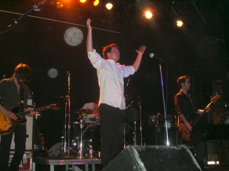 Electric Six First Avenue Live