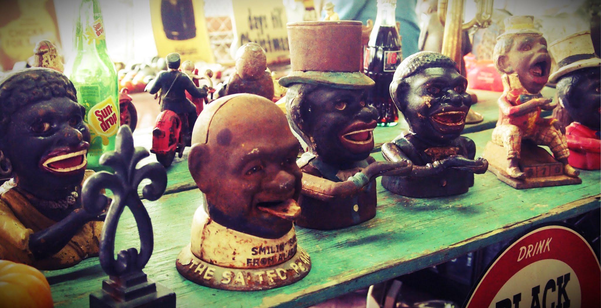 Nashville Flea Market Racist Toys