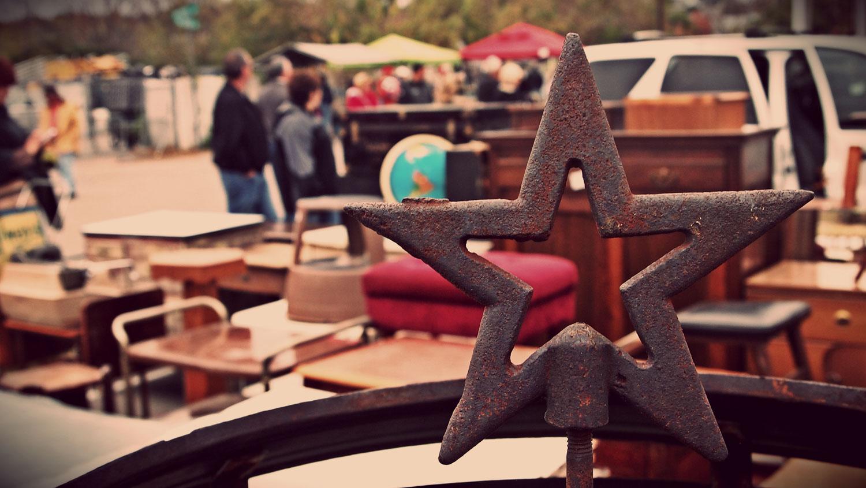 Nashville Flea Market Rusty Star