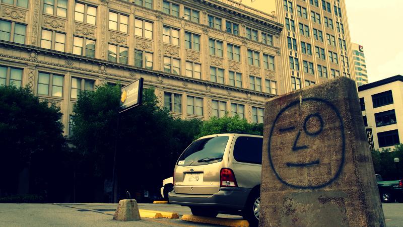 Nashville Winking Graffiti