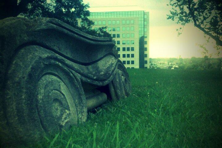 TN State Capitol Ruins Nashville