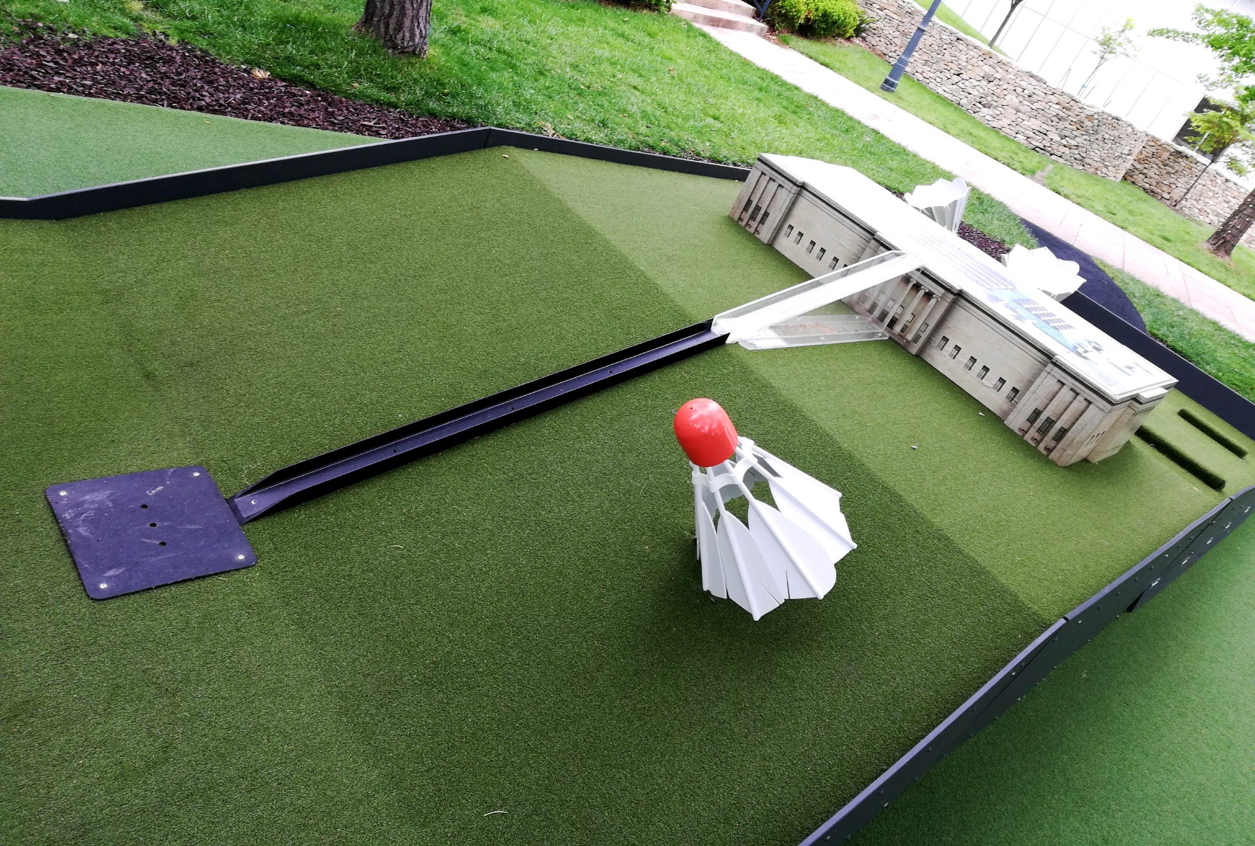 Art Course Nelson-Atkins Museum of Art Kansas City KCMO Mini Golf Nelson-Atkins Campus