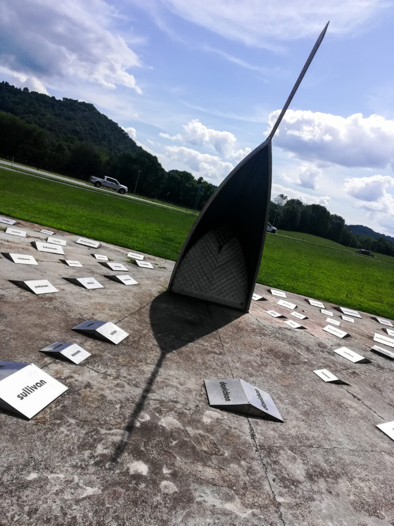 Sun Dial at TN Welcome Center, Mile Marker 267