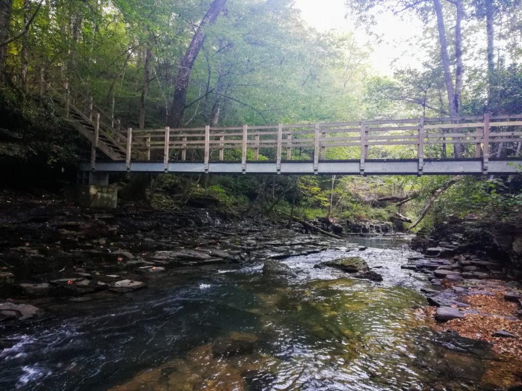 Laurel Bluff Loop Trail - Collier Horn Bridge