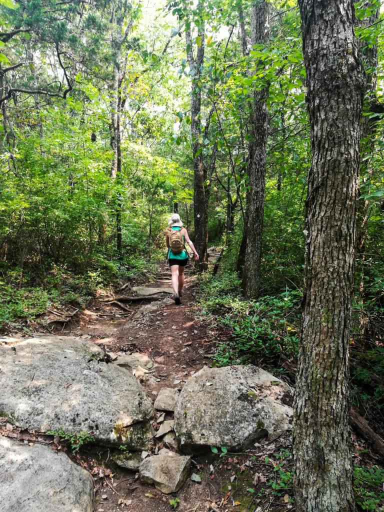 Monte Sano Nature Preserve Bluff Line Trail