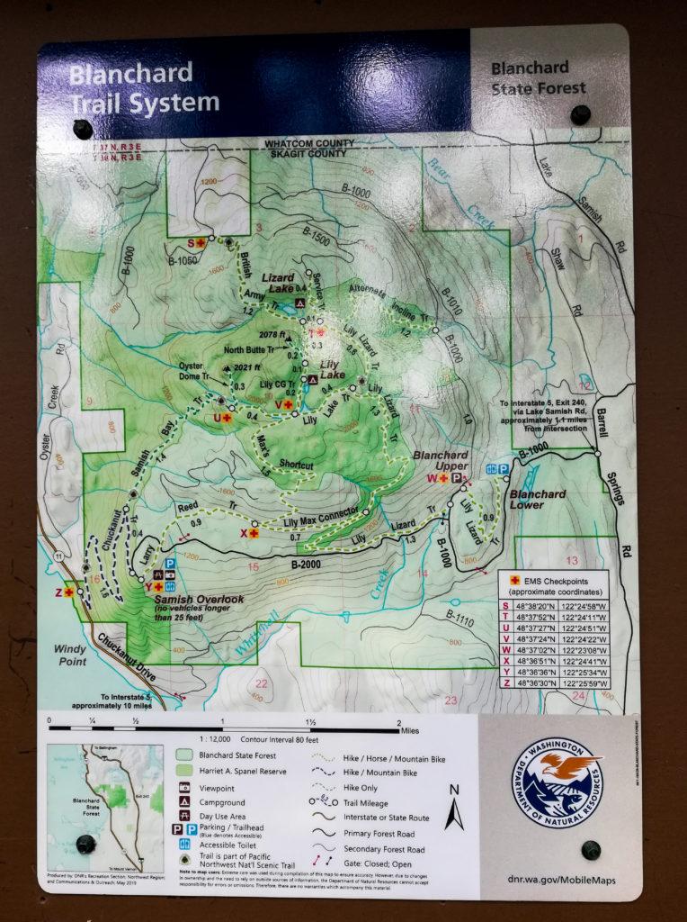 Oyster Dome Hiking Trail Washington
