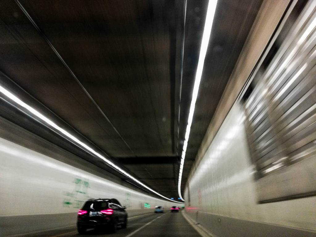 Seattle Downtown Tunnel