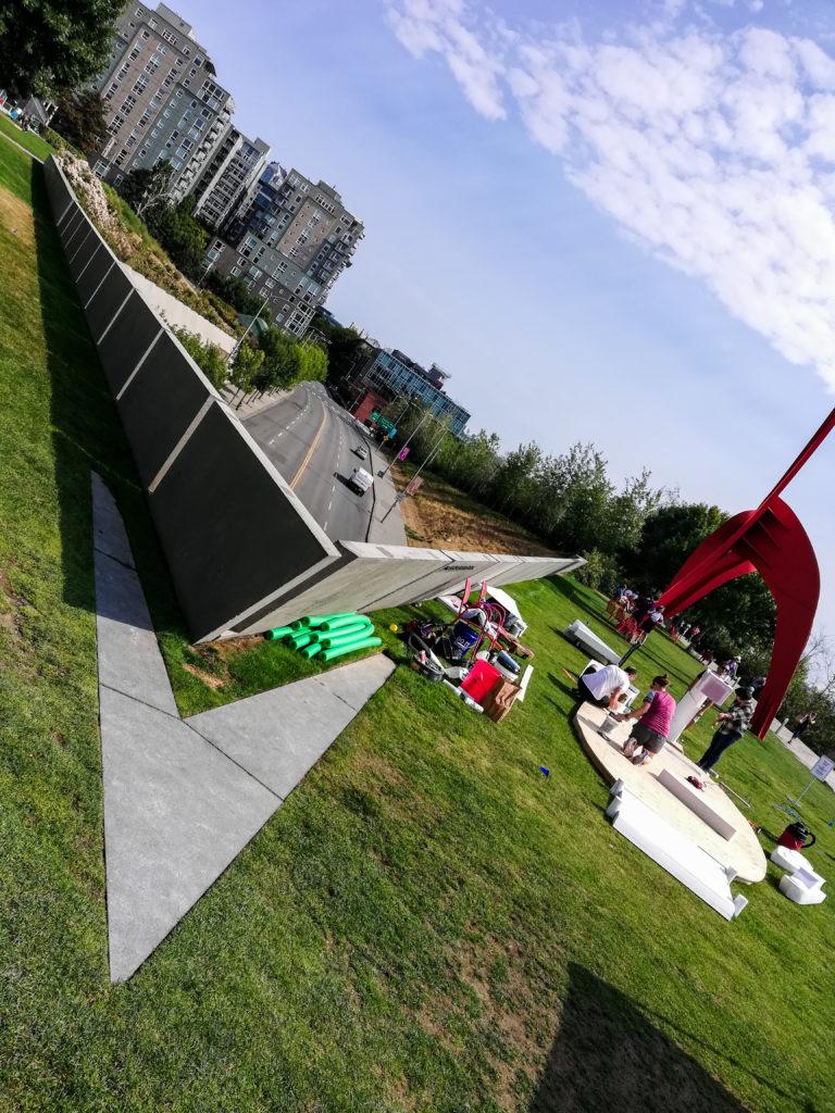 Alexander Calder Eagle Olympic Sculpture Park in Seattle