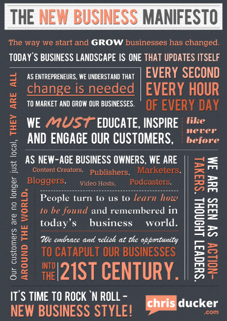 The New Business Manifesto