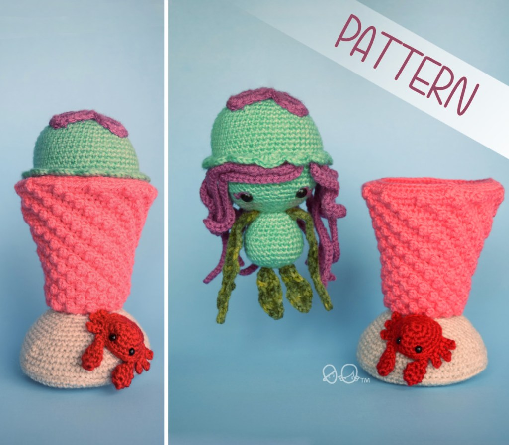 Clawd the Crab: Free crochet pattern • Chrisette Designs | 896x1024