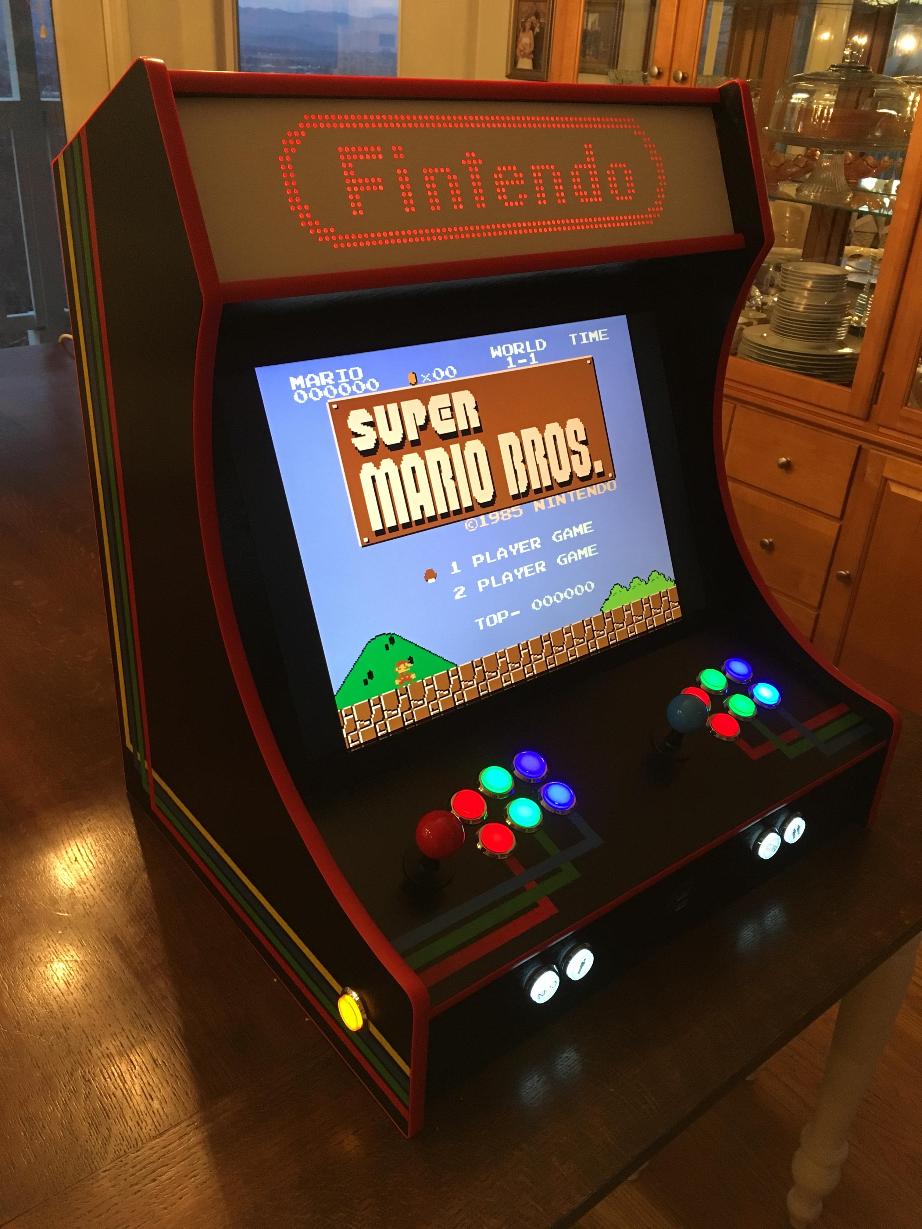 Introducing The Fintendo My Bartop Arcade Build