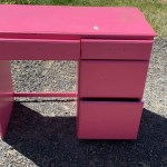 This Desk Used to Be Pink. You'll Never Believe What Color It Is Now!