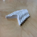 Today's Functional Print: Adjustable Shelving Leg Inserts